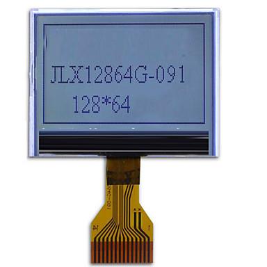 12,864g-091 LCD 모듈 12,864 도트 매트릭스 LCD 모듈 장부 디스플레이 시리얼 포트 플러그