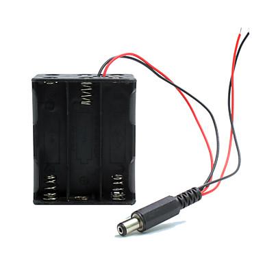 kettős kimenet 6 * AA elem tartó esetén w / dugaszt Arduino