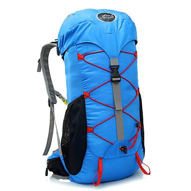 35 L 백패킹 배낭 여행 조직자 배낭 캠핑&등산 방수 빠른 드라이 착용 가능한 통기성 나일론 테릴렌