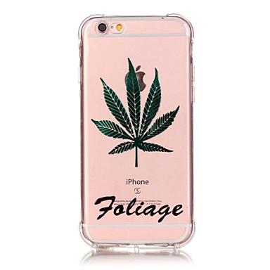 제품 iPhone 6 iPhone 6 Plus 케이스 커버 충격방지 투명 패턴 뒷면 커버 케이스 꽃장식 소프트 TPU 용 Apple 아이폰 7 플러스 아이폰 (7) iPhone 6s Plus iPhone 6 Plus iPhone 6s 아이폰 6