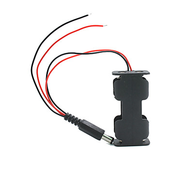 Landa Tianrui tm-kettős kimenet 2 * AA elem tartó esetén w / dugaszt Arduino