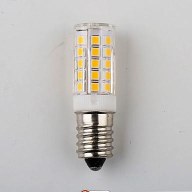 E14 7w 2835은 450lm 따뜻한 / 자연 흰색 작은 LED가 옥수수 빛을 33smd