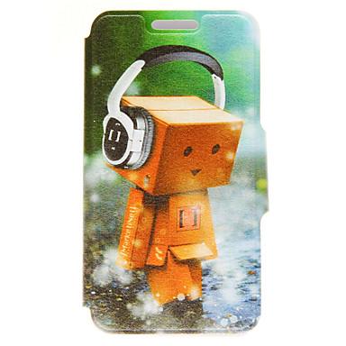 Mert iPhone 6 tok / iPhone 6 Plus tok Kártyatartó / Állvánnyal Case Teljes védelem Case Rajzfilmfigura Kemény Műbőr AppleiPhone 6s Plus/6