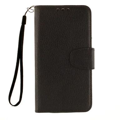 Mert LG tok Kártyatartó / Pénztárca / Állvánnyal / Flip Case Teljes védelem Case Egyszínű Kemény Műbőr LG LG K10 / LG V10