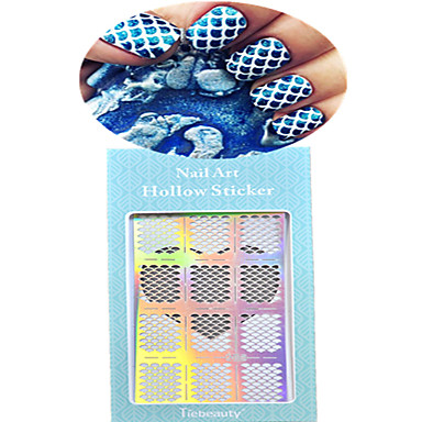 1 Nail Art matrica Körömfestés tippek Rajzfilmfigura Szeretetreméltő Esküvő smink Kozmetika Nail Art Design