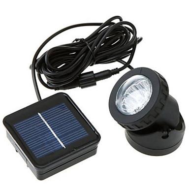 3W Napelemes LED világítás 300 lm Hideg fehér Dip LED Újratölthető / Dekoratív / Vízálló <5V V 1 db