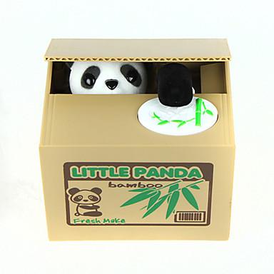 Itazura Persely Lopás Coin Bank Pénzmegtakarítást Box Case Piggy Bank Játékok Cuki Elektromos Négyzet Panda Műanyag Darabok Ajándék