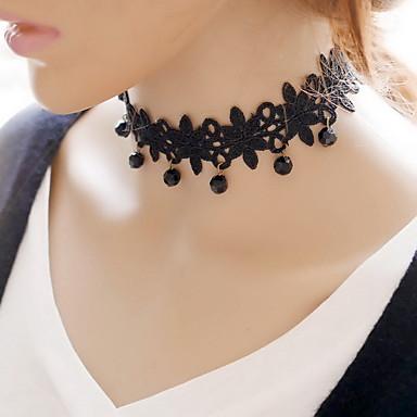 여성용 레이스 초커 목걸이 - 섹시 패션 블랙 목걸이 제품 일상 캐쥬얼