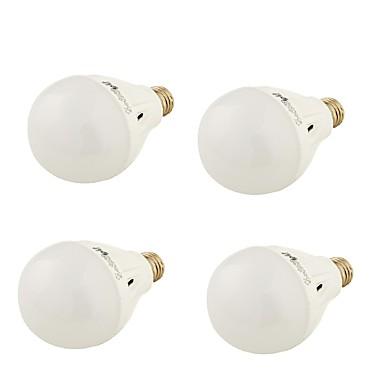 E26/E27 LED 글로브 전구 A60(A19) 16 LED가 SMD 5730 장식 따뜻한 화이트 차가운 화이트 550lm 3000/6000K AC 220-240V