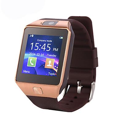 Relógio inteligente Tela de toque Calorias Queimadas Pedômetros Câmera Informação Chamadas com Mão Livre Anti-lost Suspensão Longa