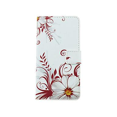 용 LG케이스 카드 홀더 / 스탠드 / 윈도우 / 플립 / 패턴 케이스 풀 바디 케이스 꽃장식 하드 인조 가죽 LG LG G4 스타일러스 / LS770 / LG G3 Beat / G3 Mini / Other
