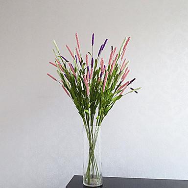 1 Gałąź Styropian Jasnoniebieski Bukiety na stół Sztuczne Kwiaty