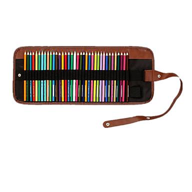 연필 펜 컬러 연필 펜,나무 통 블랙 잉크 색상 For 학용품 사무용품 팩