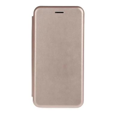 제품 iPhone 8 iPhone 8 Plus iPhone 6 iPhone 6 Plus 케이스 커버 카드 홀더 지갑 스탠드 플립 풀 바디 케이스 한 색상 소프트 천연 가죽 용 Apple iPhone 8 Plus iPhone 8 iPhone 6s