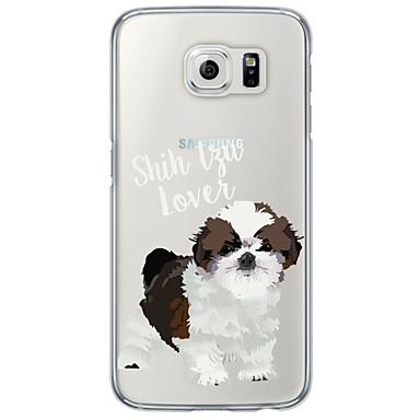 용 Samsung Galaxy S7 Edge 울트라 씬 / 반투명 케이스 뒷면 커버 케이스 개 소프트 TPU Samsung S7 edge / S7 / S6 edge plus / S6 edge / S6 / S5 / S4