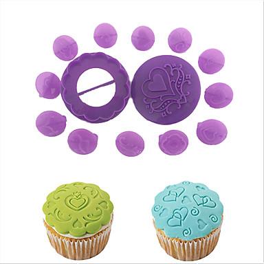 Bakeware eszközök Műanyag Sütés eszköz tortát díszítő Palacsinta Cupcake Torta Kenyér Sütőipari és cukrászati eszköz