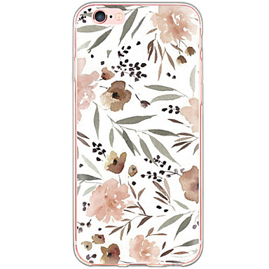Case For Apple iPhone X iPhone 8 iPhone 6 iPhone 6 Plus Dustproof Shockproof Pattern Back Cover Flower Hard PC for iPhone X iPhone 8 Plus