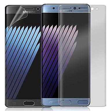 Screen Protector Samsung Galaxy na Note 7 PVC 1 szt. Folia ochronna ekranu 2.5 D zaokrąglone rogi