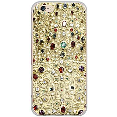 Case Kompatibilitás Apple iPhone 6 iPhone 6 Plus Minta Fekete tok Rajzfilm Kemény PC mert iPhone 6s Plus iPhone 6s iPhone 6 Plus iPhone 6