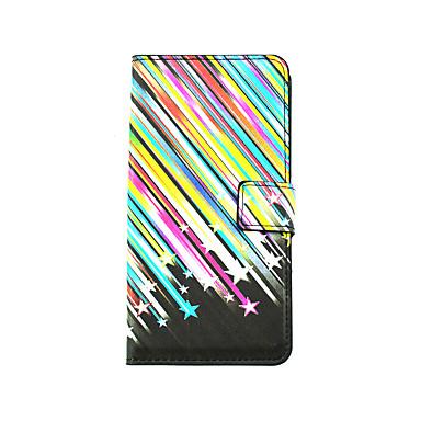 용 LG케이스 카드 홀더 / 스탠드 / 윈도우 / 플립 / 패턴 케이스 풀 바디 케이스 라인 / 웨이브 하드 인조 가죽 LG LG G4 스타일러스 / LS770 / LG G3 Beat / G3 Mini / Other