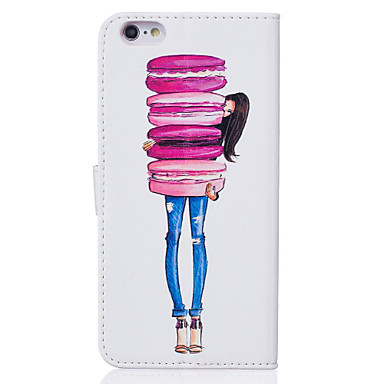 Plus di sintetica iPhone iPhone Plus 05155857 6 iPhone Custodia Apple Con carte Per credito Cartoni portafoglio Plus 6 6s 6s animati Integrale iPhone A Morbido iPhone per Porta supporto 6 pelle 4qRPC