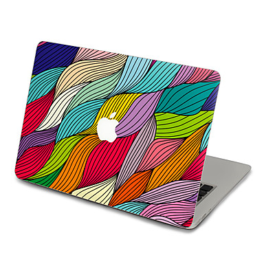 1 db Tok matrica mert Karcolásvédő Geometriai Ultravékony Matt PVC MacBook Pro 15'' with Retina MacBook Pro 15 '' MacBook Pro 13'' with