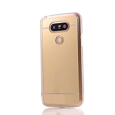 Mert LG tok Galvanizálás / Tükör Case Hátlap Case Egyszínű Kemény Akril LG LG G5