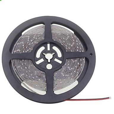 SENCART 5 m LED-es szalagfények 600 LED Meleg fehér / Fehér Cuttable / Vízálló / Összekapcsolható 12V / 3528 SMD / IP65 / Gépjárműbe