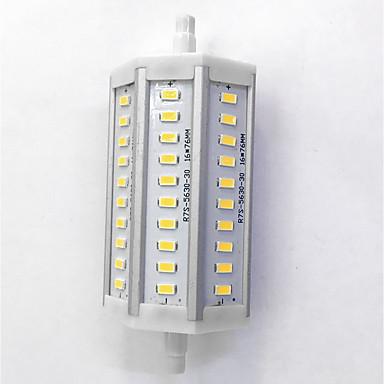 700lm R7S Żarówki LED kukurydza T 30LED Koraliki LED SMD 5630 Dekoracyjna Ciepła biel / Zimna biel 85-265V