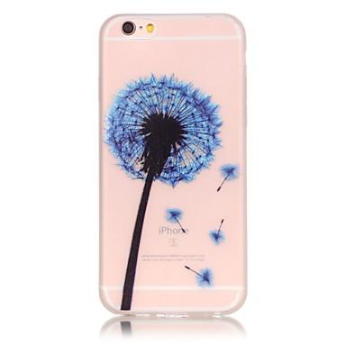 용 아이폰6케이스 / 아이폰6플러스 케이스 야광 케이스 뒷면 커버 케이스 민들레 소프트 TPU Apple iPhone 6s Plus/6 Plus / iPhone 6s/6 / iPhone SE/5s/5