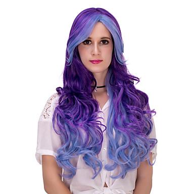 Szintetikus haj paróka Sapka nélküli tanksapka nélküli Paróka Nagyon hosszú