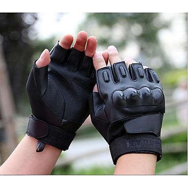 Rövid ujj Bőr Bőr Motorkerékpár kesztyűk