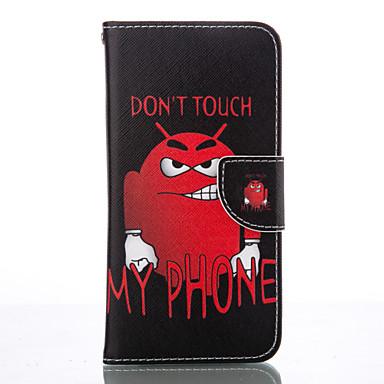 Mert Samsung Galaxy S7 Edge Pénztárca / Kártyatartó / Állvánnyal Case Teljes védelem Case Rajzfilmfigura Puha Műbőr SamsungS7 edge / S6 /