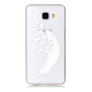제품 삼성 갤럭시 케이스 케이스 커버 울트라 씬 투명 패턴 뒷면 커버 케이스 다른 소프트 TPU 용 Samsung A5(2016) A3(2016)