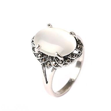 Damskie Pierścień oświadczenia , Klasyczny Vintage Na co dzień Modny Opal Księżniczka Biżuteria kostiumowa Impreza Impreza / bal