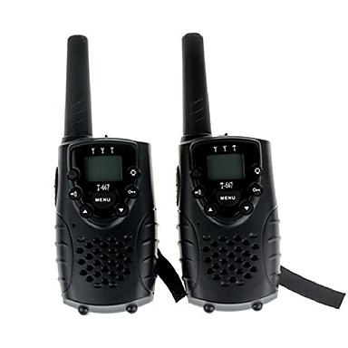 Hordozható HANG Titkosítás CTCSS/CDCSS LCD Szkennelés Megfigyelés 3KM-5KM 365 3KM-5KM 22 AA 0.5W T667462B Kézi adóvevő Két Way Radio
