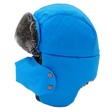 귀덮개 모자 털/모피 모자 스키 모자 남성용 여성용 보온 방풍 스노우보드 폴리에스테르 겨울 스포츠 겨울
