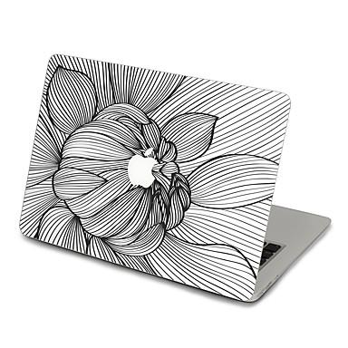 1 db Tok matrica mert Karcolásvédő Virág Matt Ultravékony PVC MacBook Pro 15'' with Retina MacBook Pro 15 '' MacBook Pro 13'' with Retina