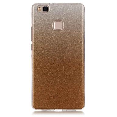 Case Kompatibilitás Huawei P9 Lite Huawei Huawei Honor 4C Huawei P8 Lite P9 Lite P8 Lite Huawei tok IMD Fekete tok Csillogó Puha TPU mert