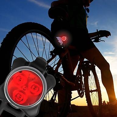 Luzes de Bicicleta Luz Frontal para Bicicleta Luz Traseira Para Bicicleta LED - Ciclismo Fácil de Transportar Atenção Baterias C 40 Lumens