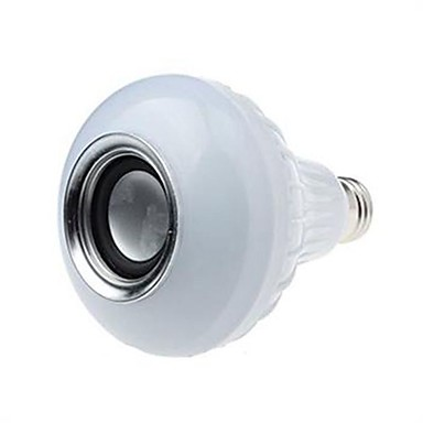 E26/E27 LED 스마트 전구 A90 5050-12SMD+5730-14SMD SMD 5730 700LM lm 차가운 화이트 RGB 블루투스 리모컨 작동 AC 85-265 V 1개