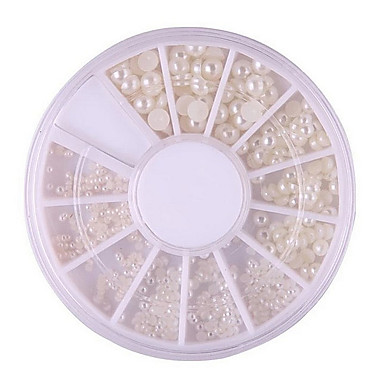 1 Biżuteria do paznokci Klasyczny Perła Wysoka jakość Codzienny Nail Art Design