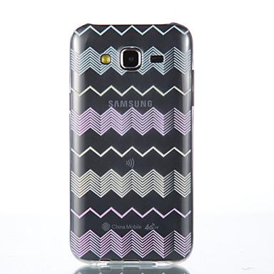 용 삼성 갤럭시 케이스 투명 케이스 뒷면 커버 케이스 라인 / 웨이브 소프트 TPU Samsung J5 / Grand Prime