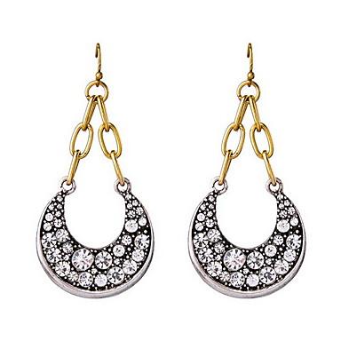 Női Nyaklánc medálok Divat luxus ékszer Európai Ezüst Hamis gyémánt Ékszerek hold Ékszerek Kompatibilitás Napi Hétköznapi