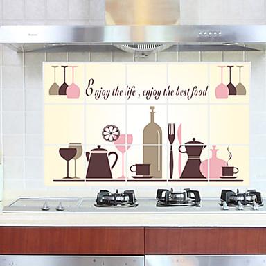 Narzędzia kuchenne Papierowy Wielofunkcyjny / Ekologiczne Zabawne Do domu / Do biura / Do użytku codziennego 1szt / Dekoracyjne naklejki ścienne
