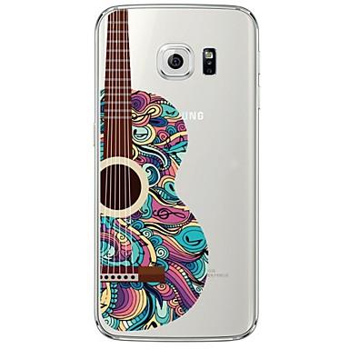 Kompatibilitás Samsung Galaxy S7 Edge tokok Átlátszó Minta Hátlap Case Rajzfilm Puha Hőre lágyuló poliuretán mert Samsung S7 edge S7 S6