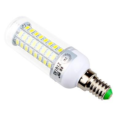 ZIQIAO 960 lm E14 E26/E27 LED 콘 조명 T 72 LED가 SMD 5730 장식 따뜻한 화이트 내추럴 화이트 AC 220-240V