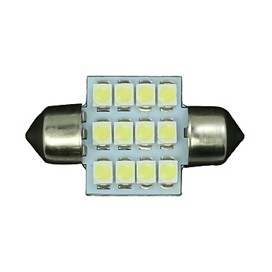 SO.K 4pcs Αυτοκίνητο Λάμπες εσωτερικά φώτα For Universal