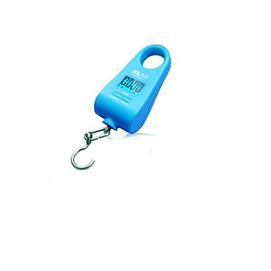 hordozható mini elektronikus skála (maximum skála: 20 kg, kék)