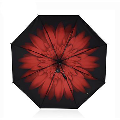 Összecsukható esernyő textil Utazás Nő Férfi